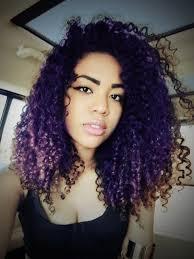 curly hair highlight for black hair women medium haircut