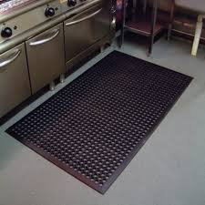 Under Kitchen Cabinet Black Kitchen Floor Mats Above Concrete Floor Under Kitchen