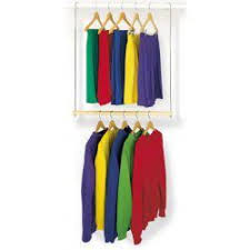 use double hangs to create more closet space