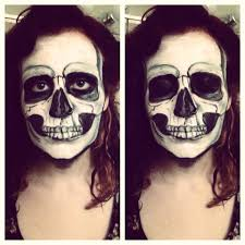 some face painting ideas for you procrastinating halloween partiers