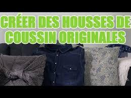 fabriquer coussin canapé réaliser 3 styles de housses de coussin pour canapé sans machine à