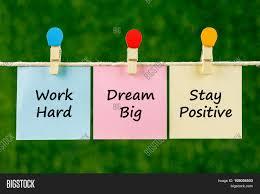 word quotes work hard dream big image u0026 photo bigstock