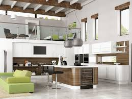 Kitchen Doors  Wonderful White Wood Stainless Cool Design New - New kitchen cabinet designs