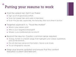 Resume To Work Resume Writing For Fresh Graduates