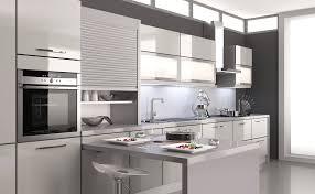 cuisine teisseire cuisine mirage gris tourterelle design et équipée par cuisines