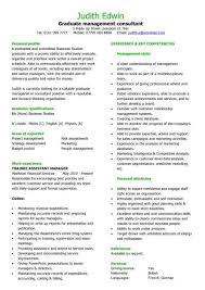 Example Of A Well Written Resume by Graduate Cv Template Student Jobs Graduate Jobs Career