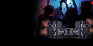 impianti stereo home audio lg micro e mini hi fi lg italia