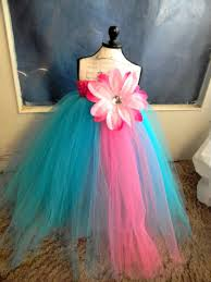 turquoise flower dress baby tutu dress toddler turquoise tutu