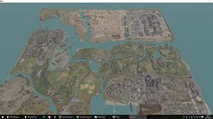 Distance Map Gta San Andreas Map Zoomed Out With No Draw Distance Fog News