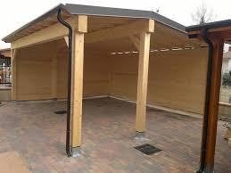 tettoia autoportante pergolati in legno a ferrara parma e bologna tettoie in legno