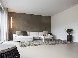 Schne Wandfarben Hausdekorationen Und Modernen Möbeln Geräumiges Schönes