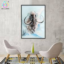 aliexpress com buy abstract 3d artwork fabric painting animals