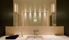 contemporary bathroom lighting ideas vanity lighting warm white led light strips are used as plinth