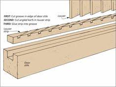 Cabinet Door Plans Woodworking Learn To Make Beautiful Louvered Doors And Window Shutters