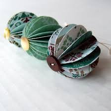 recycled paper paper ornaments ideas
