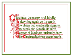 christmas poems rhyme u2013 happy holidays
