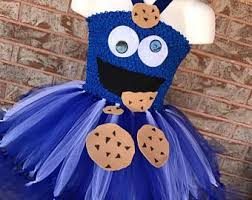 cookie monster tutu etsy