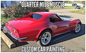 corvette restoration shops corvette restoration shop quarter mile inc