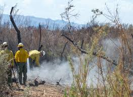 Wildfire Kingman Az by Firefighters Make Significant Progress On Beal Fire In Havasu