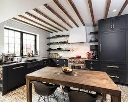 Cement Tile Backsplash by 30 All Time Favorite Farmhouse Cement Tile Floor Kitchen Ideas Houzz