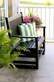 Veranda Metal Patio Loveseat Glider by Best 25 Porch Glider Ideas On Pinterest Furniture Gliders Diy