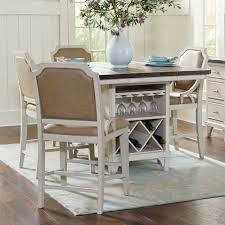 Kitchen Island With Seating For 5 5 Kitchen Island Table Set Mystic Cay By Avalon Furniture