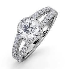 engagement ring uk halo engagement rings thediamondstore co uk