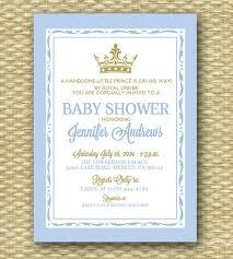 prince baby shower invitations printable royal baby shower invitation royal baby boy shower