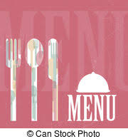 place setting template place setting menu rainbow rainbow colored place setting as