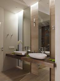 Smart Bathroom Mirror by Bathroom Smart Bathroom Interior Design With Twin White Sink And