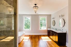 small bathroom paint colors for bathrooms with no windows color remodelaholic spacious bathroom inspiration hawthorne open with wood floor painted in benjamin moore o bathroom
