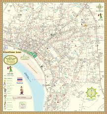 Map Of Laos Vientianecitymap Gif