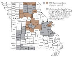 Map Of Missouri Counties Mdc Expands Deer Feeding Ban To 41 Counties In Response To Cwd