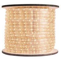 warm white led rope light 120v rope light spools 1000bulbs