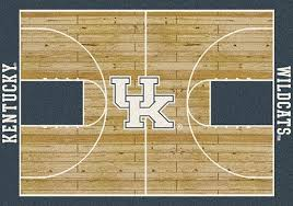 College Rug College Home Court Rug