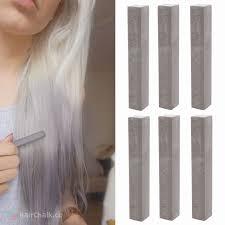 best ash gray hair dye set cloudy 6 dark grey hair chalks