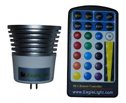 Led Light Bulb Mr16 by Color Changing Led Lightbulb With Remote Control Gu53 Base 5 Watt