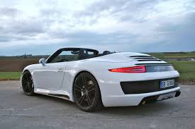 porsche carrera back gemballa gives porsche 911 carrera s cabrio cool styling kit