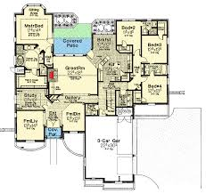 French Country Floor Plans Attractive French Country Exterior 48005fm Architectural