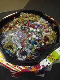 sensory christmas tuff tray seasonal pinterest tuff tray