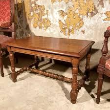 turned leg coffee table french oak turned leg coffee table 517763 sellingantiques co uk