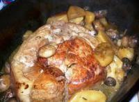 cuisiner la palette de porc palette de porc aux chignons frais recette iterroir