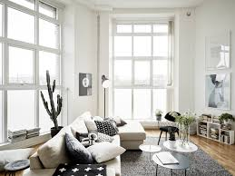 decordots scandinavian style home apartment with large windows
