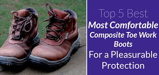 Most Comfortable Work Shoes For Standing On Concrete The 5 Most Comfortable Composite Toe Work Boots For A Pleasurable