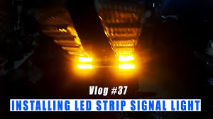 Install Led Light Strip by How To Install Led Tail Light On A Bike Led Motorcycle Brake