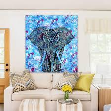 aliexpress com buy elephant beach towel tapestry twin indian