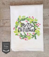 christmas towels christmas towels tea towels kitchen towels flour sack