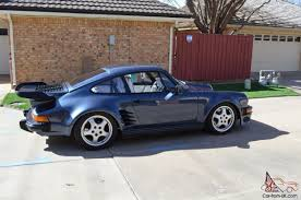 ruf porsche wide body turbo 911 all steel euro wide body 930 51 twin plug k27 turbo show
