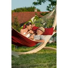 stand and family hammock canoa