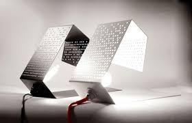 design idea perforated metal table ls modern lighting design idea lighting